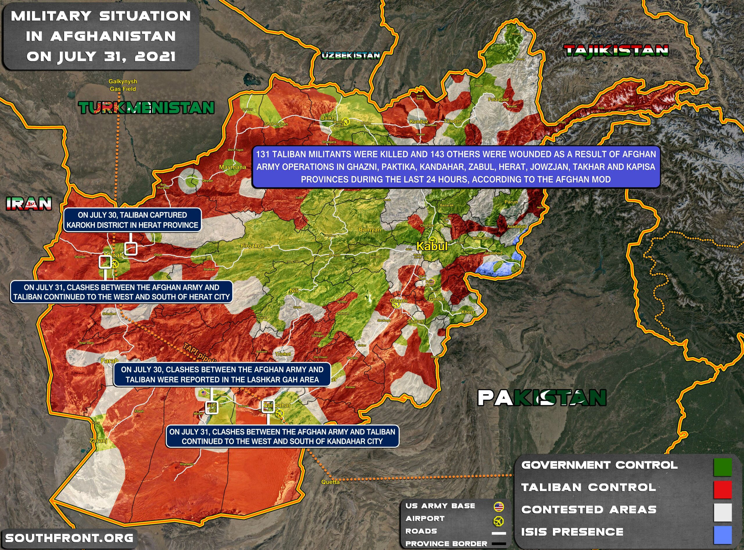 Taliban Ties Up Loose Ends: Afghanistan Provincial Capitals, UN Mission Attacked (Video)
