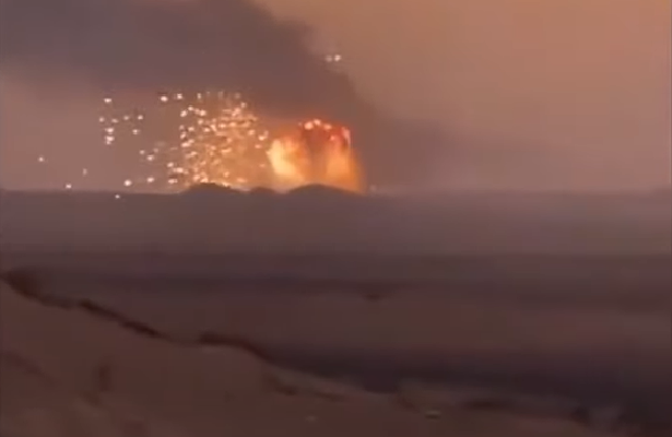Saudi Officials Claim 'Accident' Behind Large Explosions In Ammo Depots Near Al-Kharj (Video)
