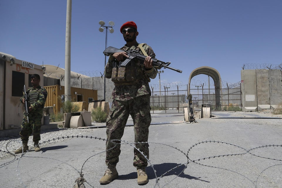 Leaving Bagram Airbase: The Day the US Imperium Turned Tail