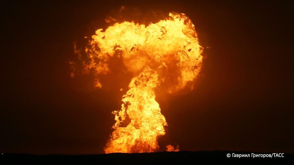 Chain Of Accidents: Massive Explosion Seen Off Azerbaijani Caspian Coast