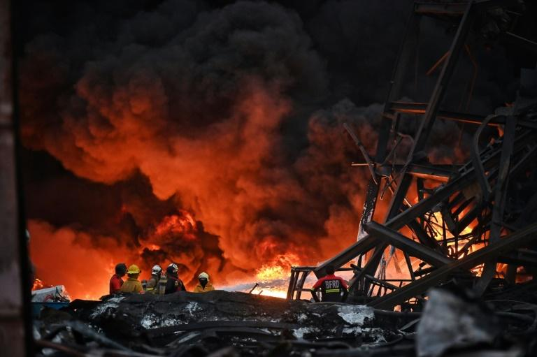 In Video: Casualties Reported In Bangkok Chemical Plant Blast