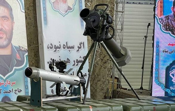 Iran Unveils Own Copy Of Israeli Spike Anti-Tank Guided Missile (Video, Photos)