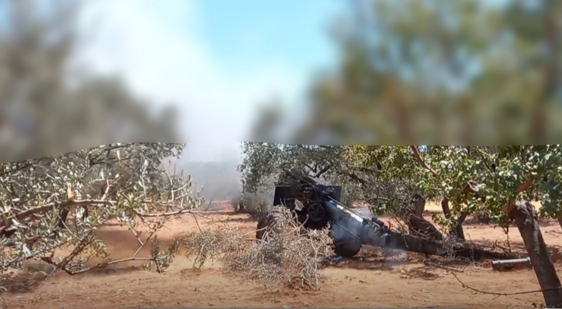In Video: Hay'at Tahrir Al-Sham Shelling Government-Held Towns In Greater Idlib With Improvised Rockets, Artillery