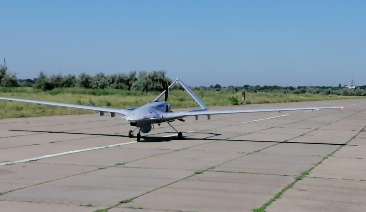 Ukraine Received First Bayraktar TB2 Combat Drone From Turkey