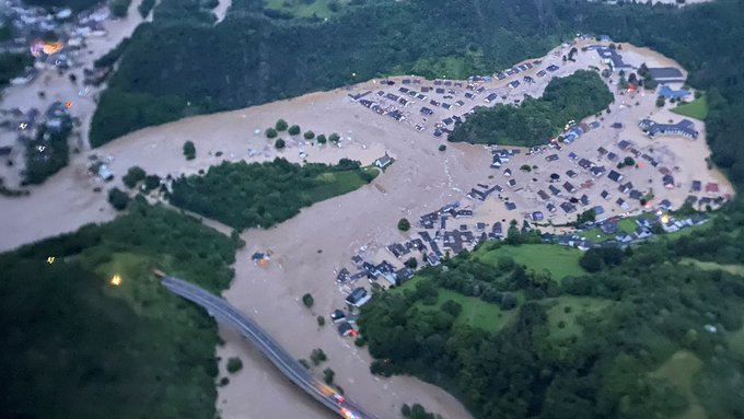 """Floods In Germany Leave At Least 93 Dead In """"Unseen Disaster"""""""