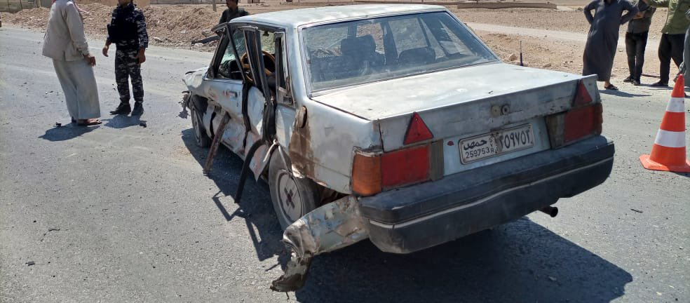 Turkish Combat Drone Targets Two Vehicles In Northeastern Syria (Photos)
