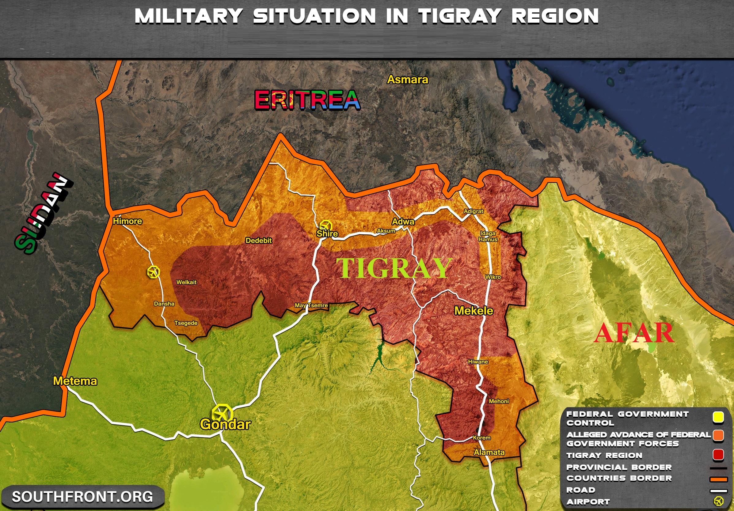 Ethiopia: Tigray Militants Attacked Neighboring Afar Region