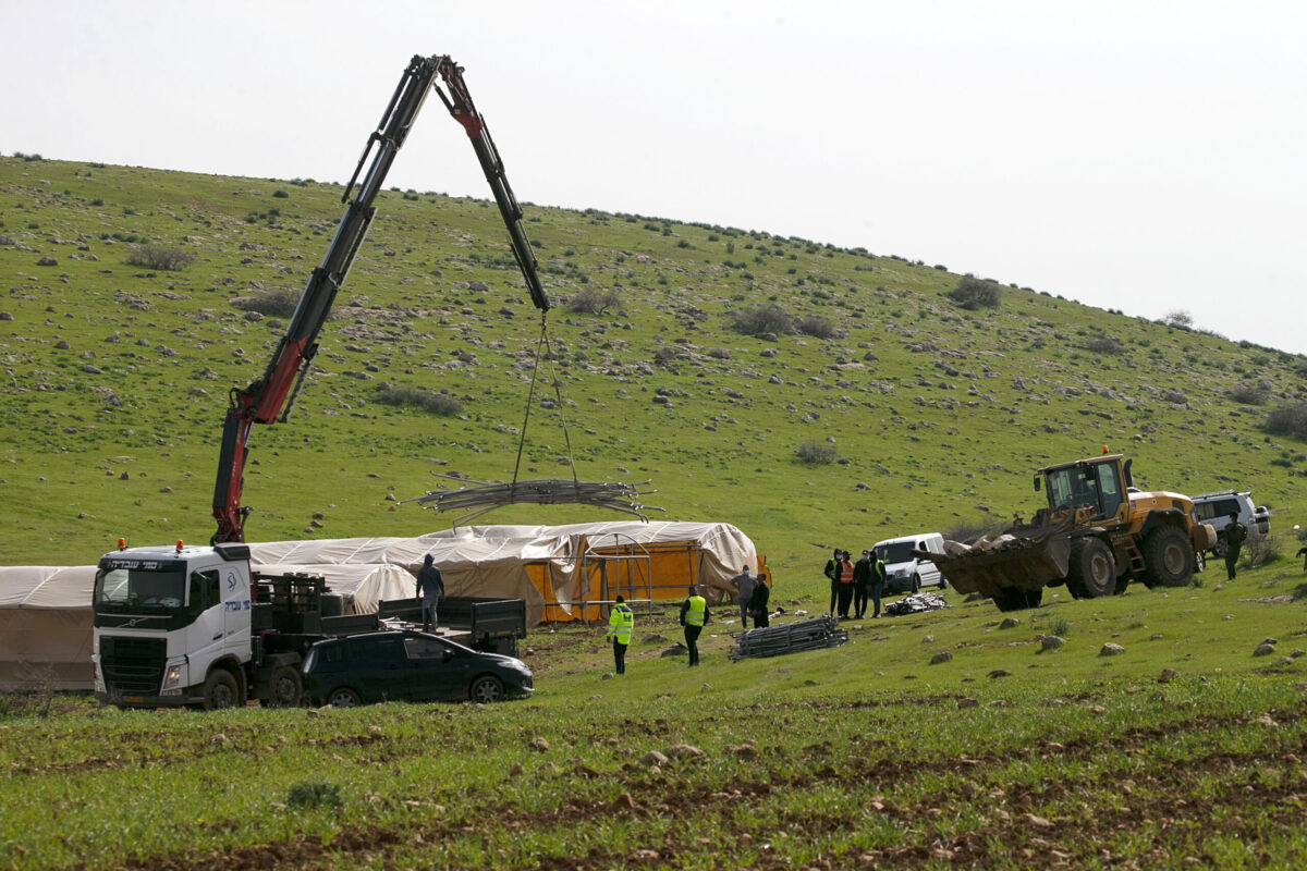 Israel Blocks Aid Delivery, Demolishes Palestinian Structures