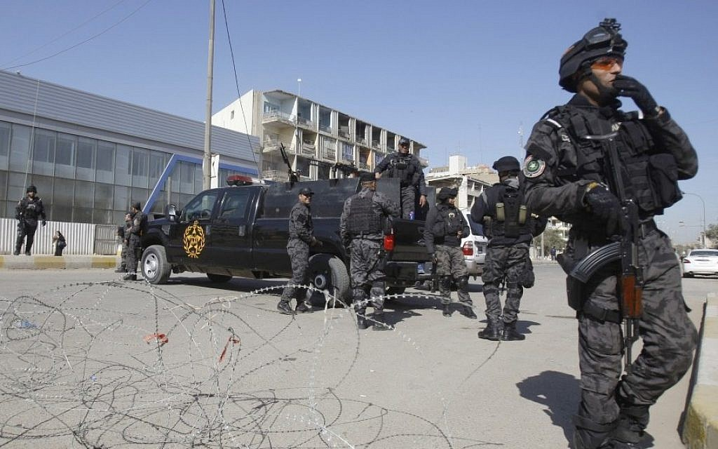 """Two Rockets Target U.S. Embassy In Baghdad In Rejection Of """"Training Mission"""""""