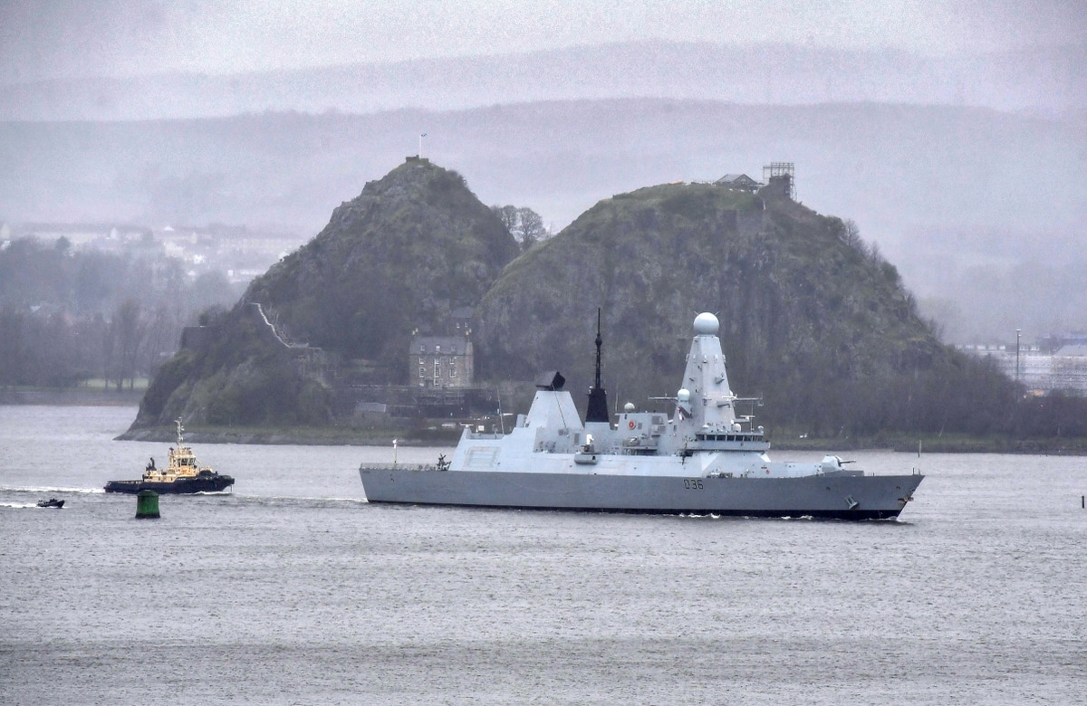 The UK Has Only One Available Type 45 Destroyer In Its Fleet: The HMS Defender
