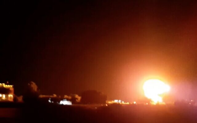 Israel Bombs Gaza In Response To Incendiary Balloons Lighting Open Fields On Fire