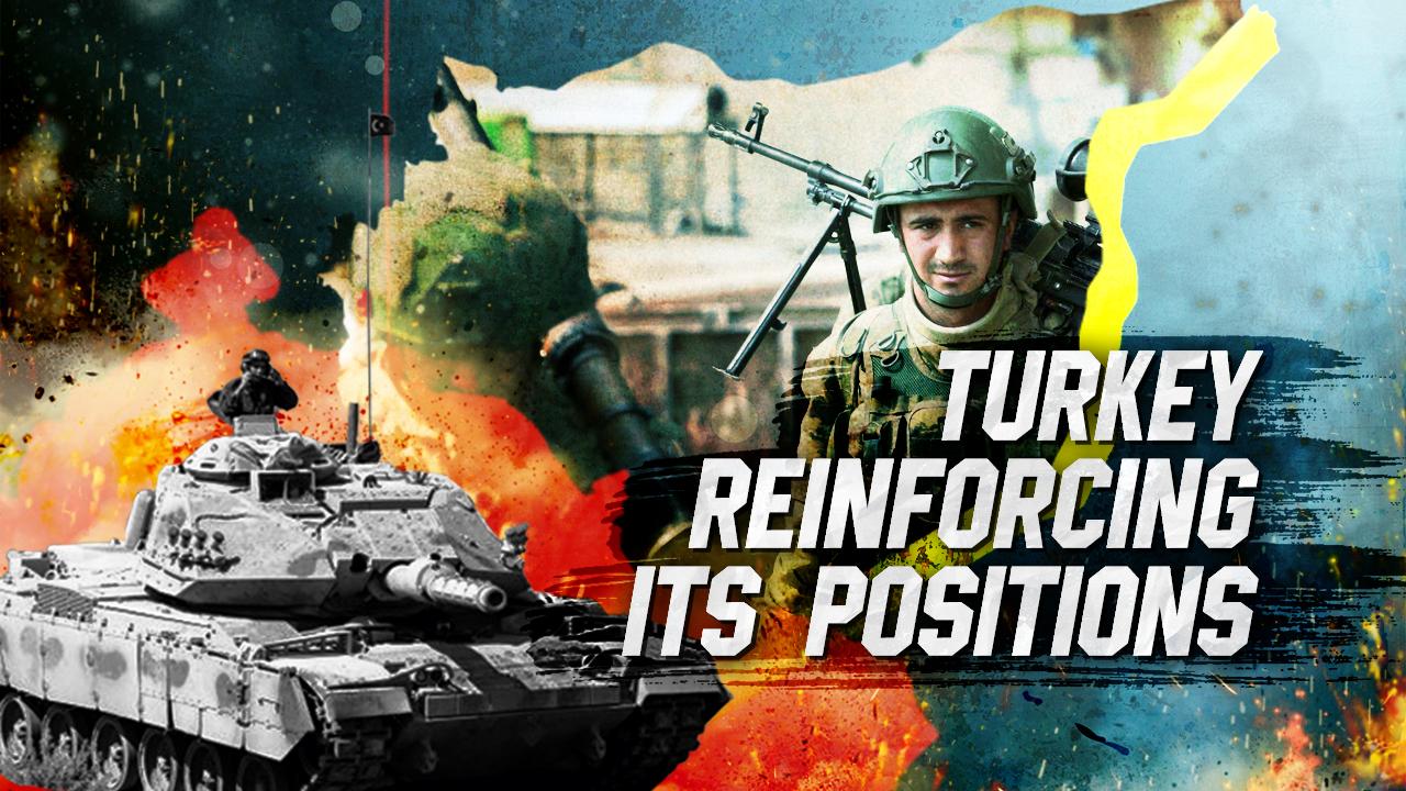 Türkei verstärkt ihre Positionen in Nordsyrien
