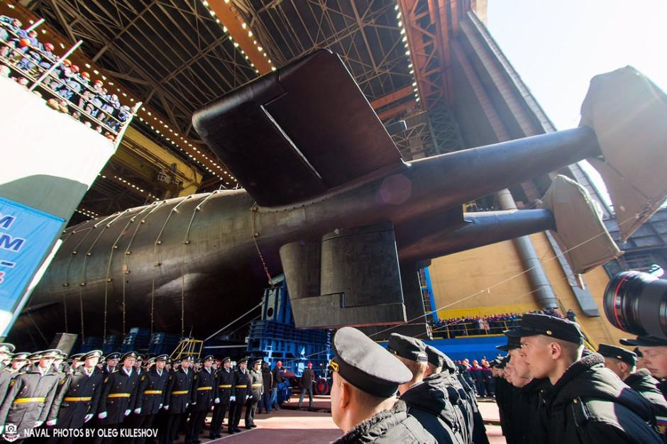Putin's 'City-Killer': Russia Launches World's Largest Nuclear-Armed Submarine