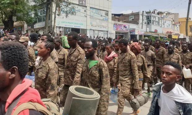 TPLF Parades Its 7,000 POWs In Tigray's Capital