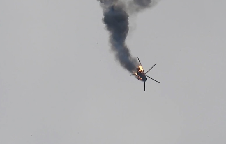 Libyan Army Says Two Of Its Helicopters Collided, Crashed South Of Benghazi
