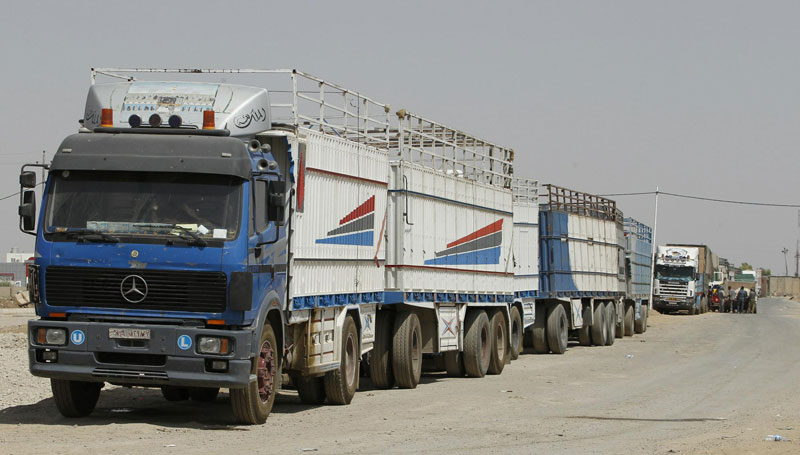 Goods And Passengers Transfer Between Syria And Jordan Facilitated