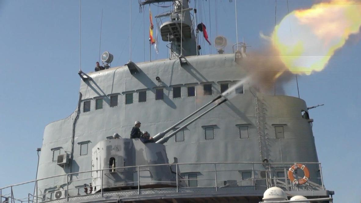 Russia's Black Sea Fleet Carries Out Live Fire Drills, Tests Crimean Defenses Alongside NATO's Sea Breeze Exercise