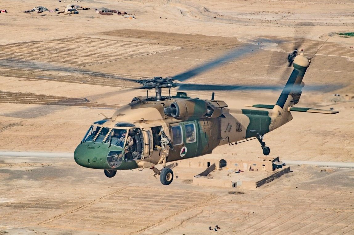 Two Afghan Black Hawk Helicopters Destroyed In Taliban's 'Tactical Attack' On Kunduz Airport