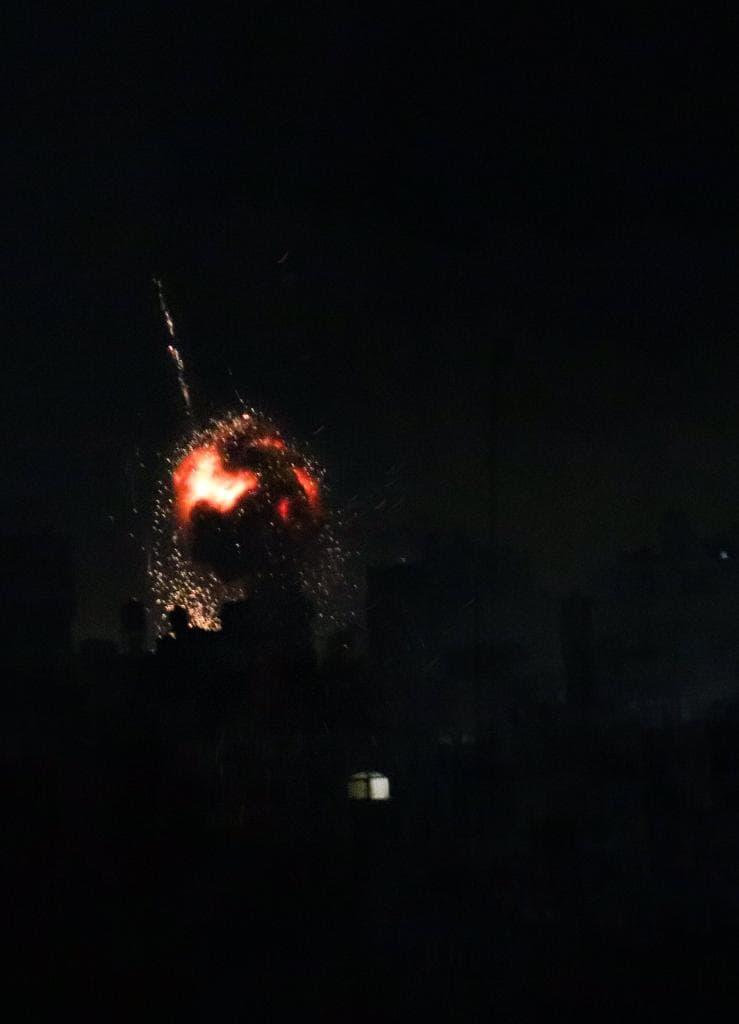 New Wave Of Israeli Airstrikes Targeted Hamas Facilities In Gaza (Video)