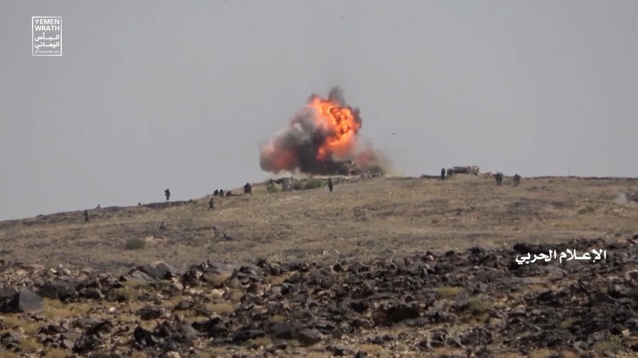 Combat Footage: Houthis Pushed Saudi-Backed Forces Out Of Key Al-Bayda District