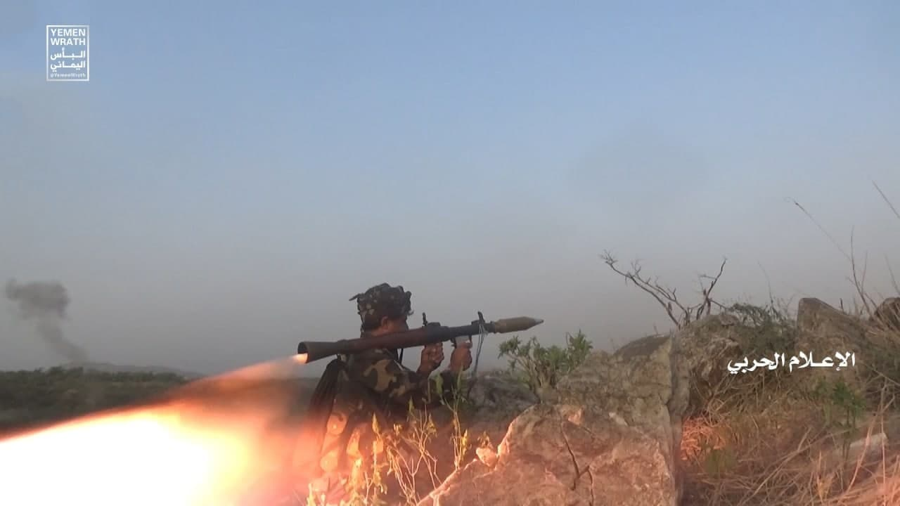 Combat Footage: Houthi Fighters Stormed Key Positions On Border With Saudi Arabia's Jizan (18+)