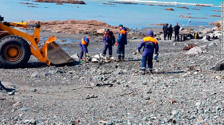Three Bodies Found Days After Mi-8 Helicopter Crashed Into Lake In Kamchatka, Russia