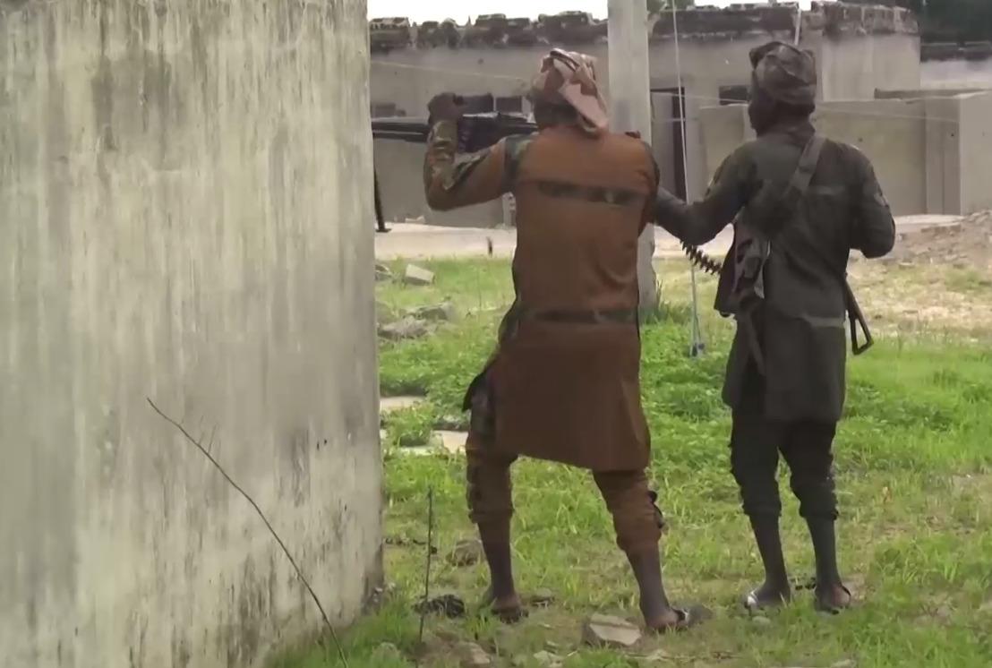 Combat Footage: ISIS Cells Ambushed Nigerian Army Convoy In Borno (18+)