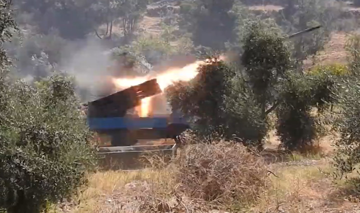 Hezbollah Releases Footage Of Recent Rocket Attack On Northern Israel