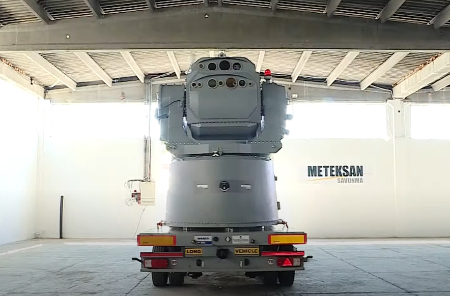 Turkey's Meteksan Defence Industry To Present New 'Soft Kill' Laser System (Video)