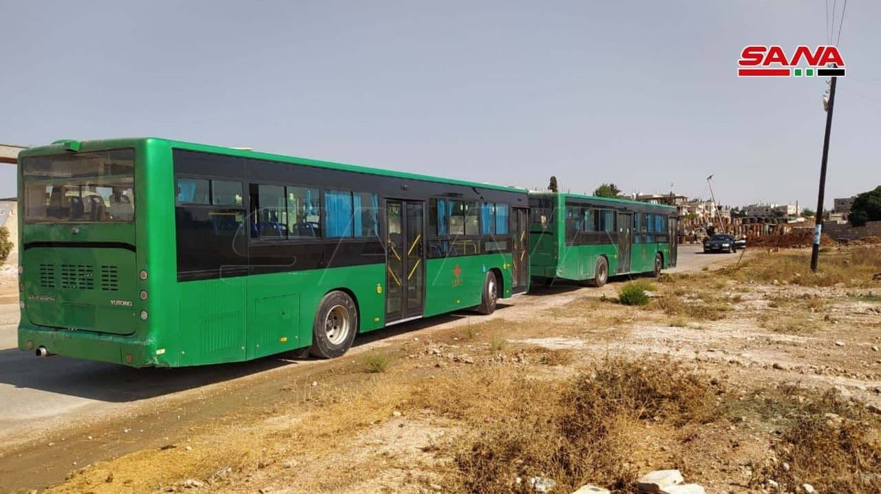 De-Escalation: Dozens Of Gunmen Depart Daraa Al-Balad After Pressure From Syrian Army (Photos)