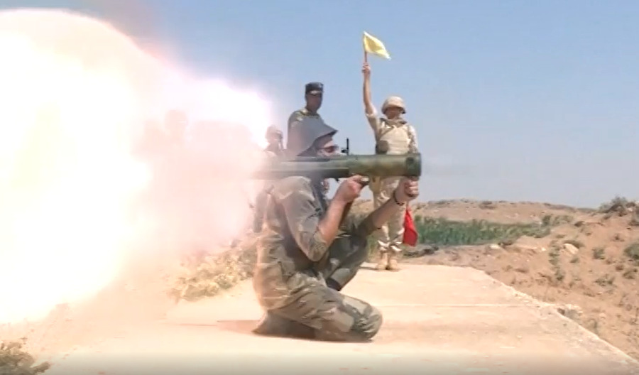In Video: Russian Advisors Train Syrian Soldiers On Close Combat