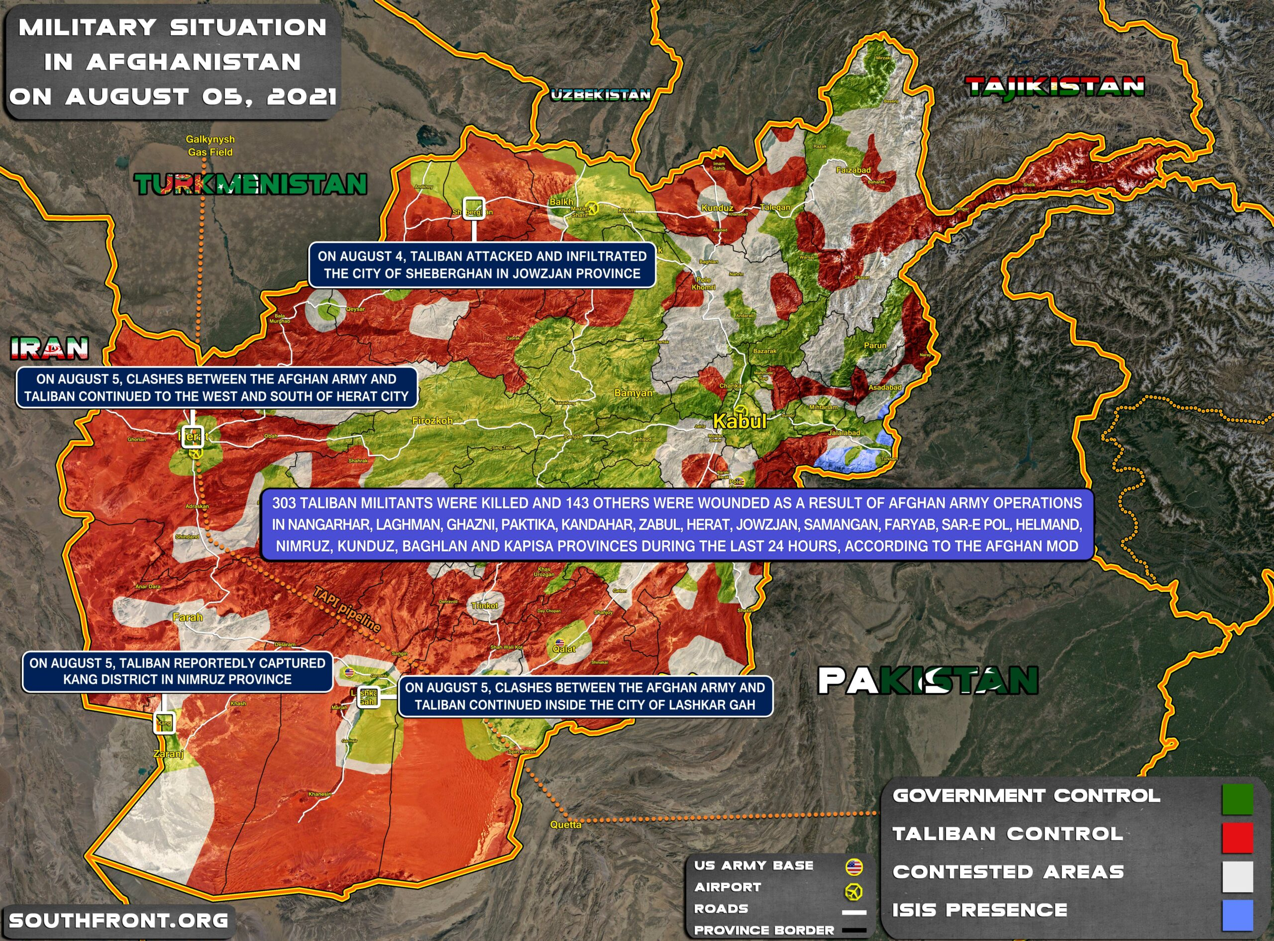 Overview Of Taliban's Advance: First Provincial Capitals Fell, Manhunt Declared In Kabul