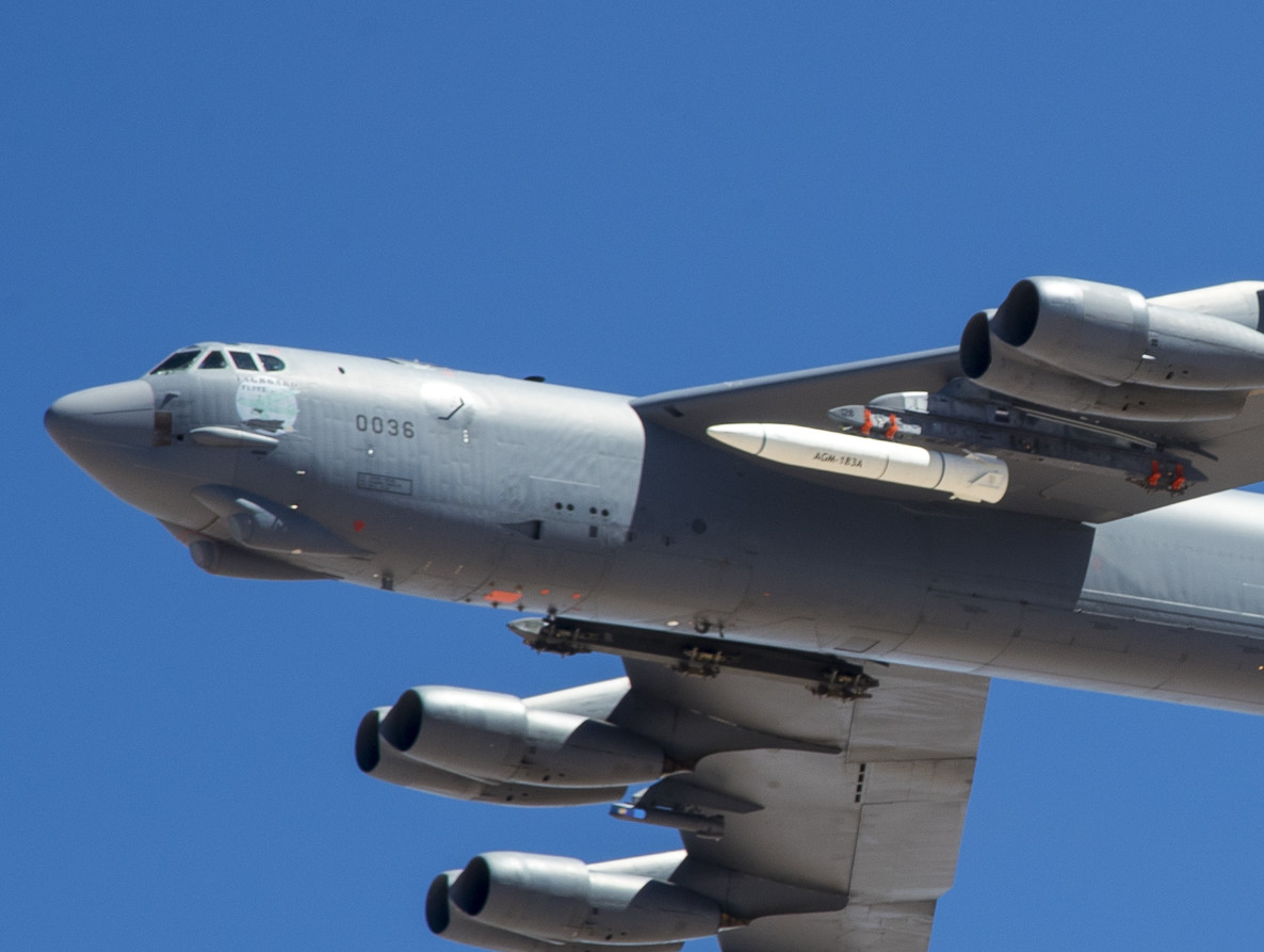 The United States Hypersonic ARRW Failed Its Test, But At Least It Left The B-52 Bomber