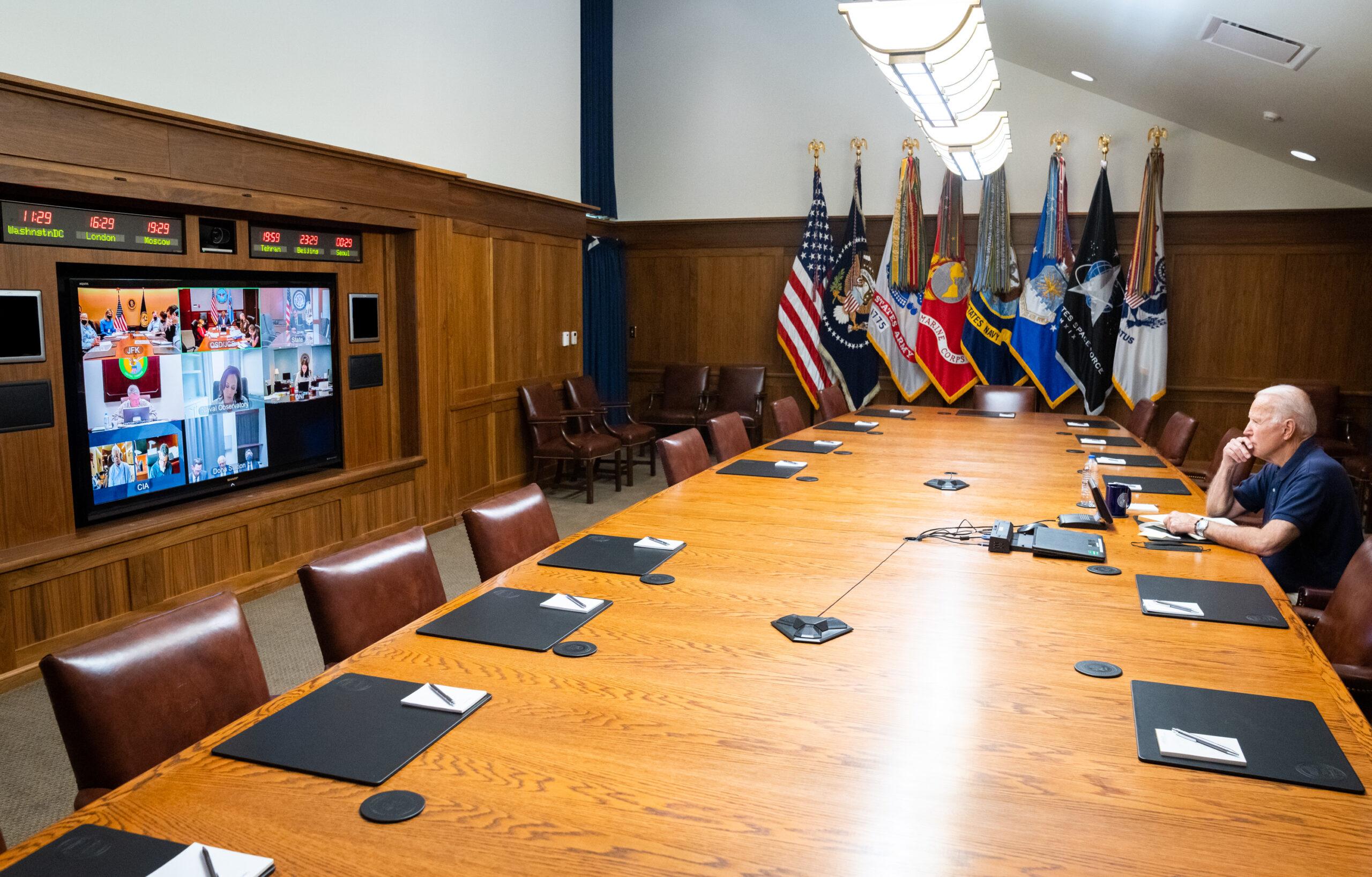 "Biden To Address Crisis In Afghanistan ""In Next Few Days"""