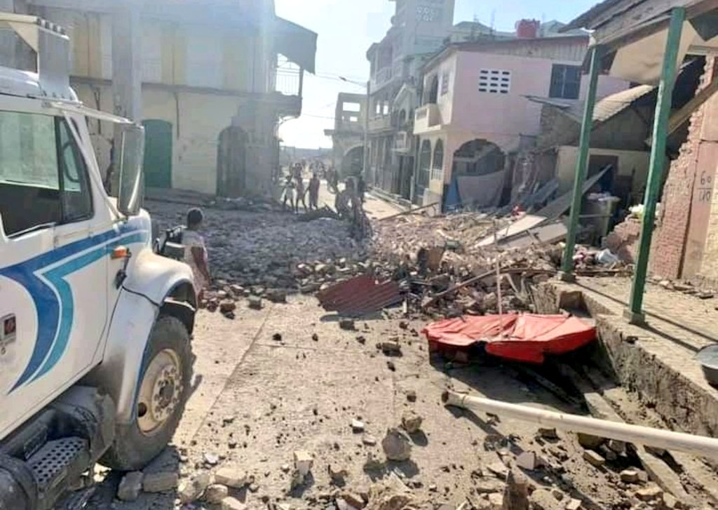 First Footage From Haiti Hit By 7.2-Magnitude Earthquake (Number Of Casualties Updated)