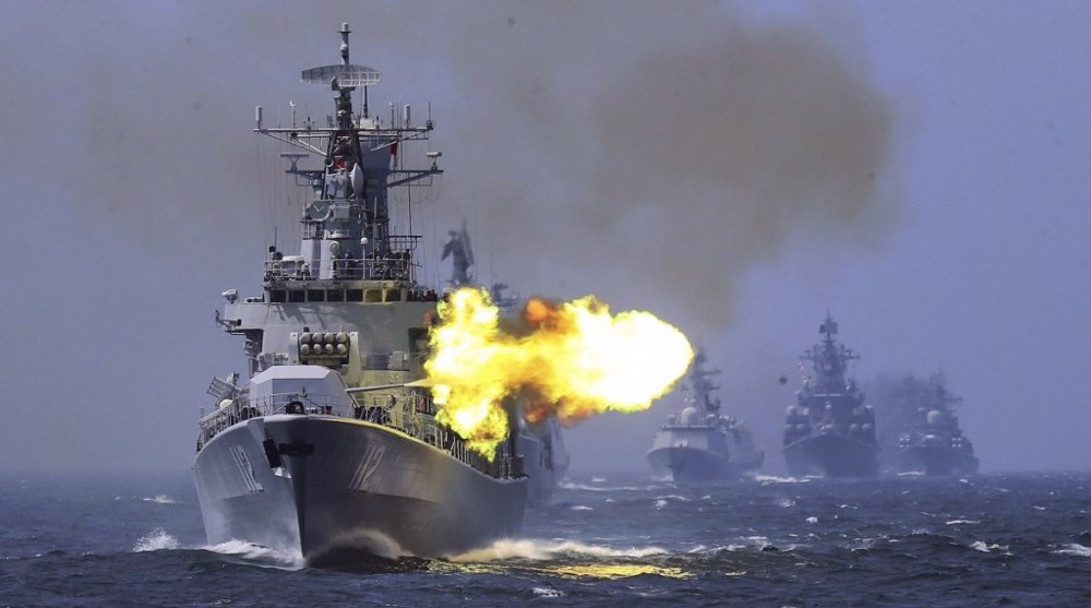 China Warns Taiwan Not To Rely On U.S., Holds Live Fire Maritime Drills