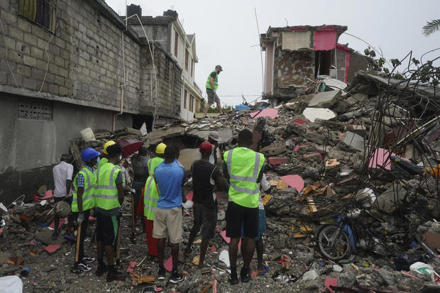Haiti Earthquake Death Toll Nears 2,000 As Tens of Thousands Of Buildings Destroyed