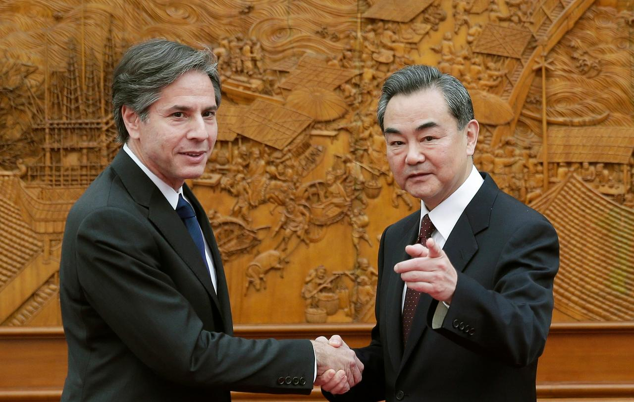 """China Foreign Minister Slams Blinken For """"Double Standards"""" And Fighting Terrorism """"In A Selective Way"""""""