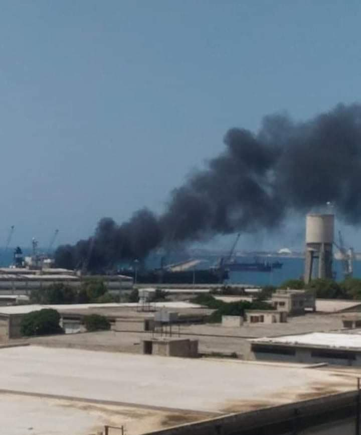 Explosion Occurred On Ship In Syria's Latakia