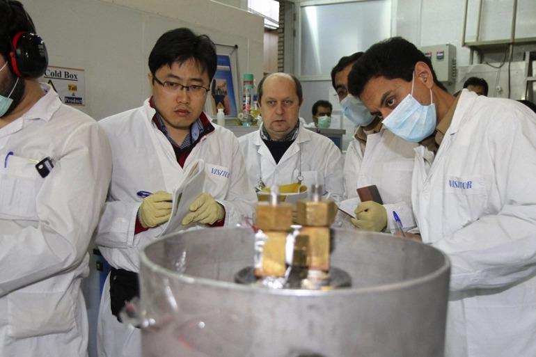 IEAE Says Iran Progressing In Enriched Uranium Metal, U.S. Urges It To Stop