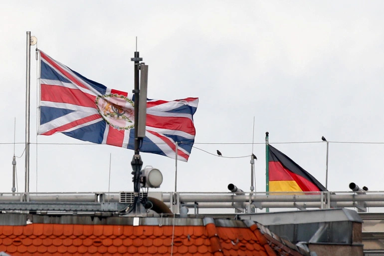 British Embassy Worker Arrested By German Police For Allegedly Spying For Russia
