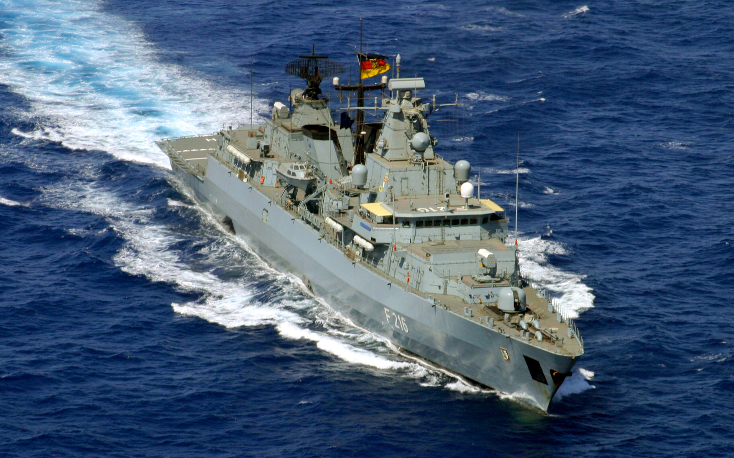 Navy Voyage To The Pacific Demonstrates Germany's Intent To Be Global Military Power