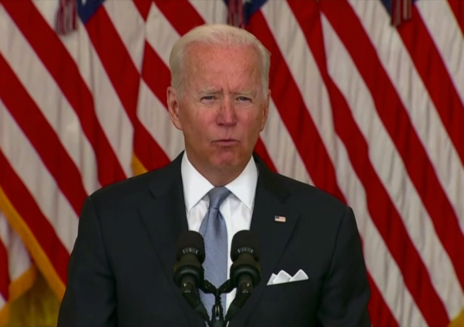 Buck Stops With Me: Joe Biden Finally Commented On Situation In Afghanistan