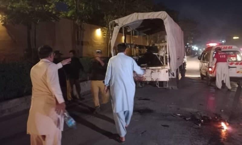 Pakistani Policemen Killed In Terrorist Attack (Photos, Video)