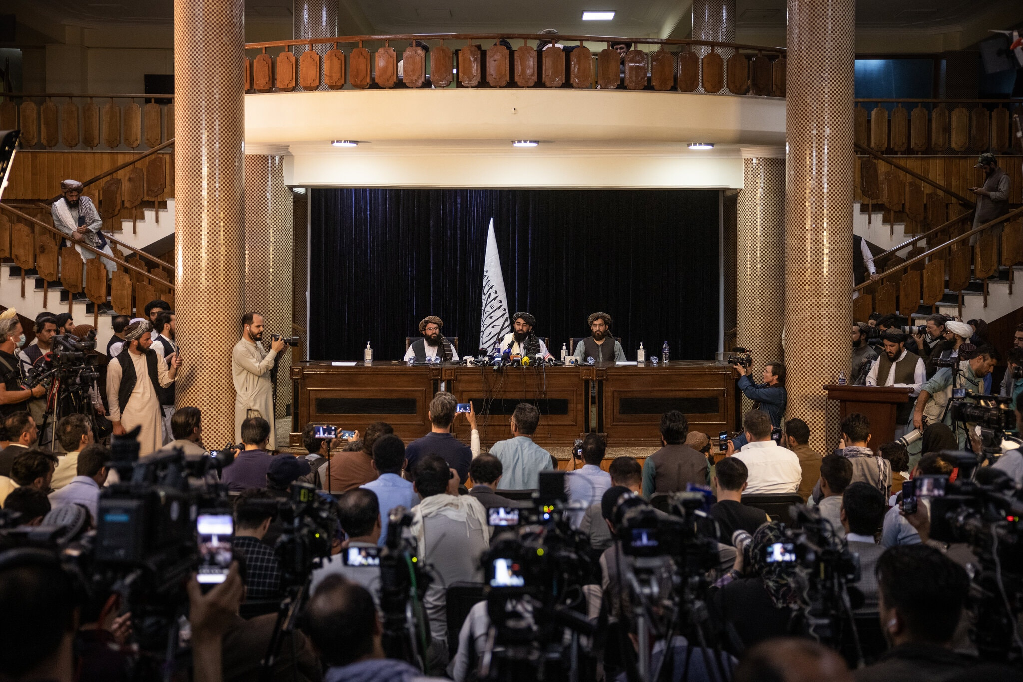 Taliban's First Press Conference After They Took Control Over Afghanistan