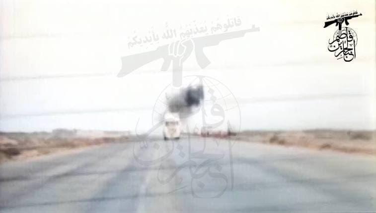 Iraqi 'Resistance' Blew Up Two US Supply Convoys In Al-Diwaniyah, Babylon (Photos)