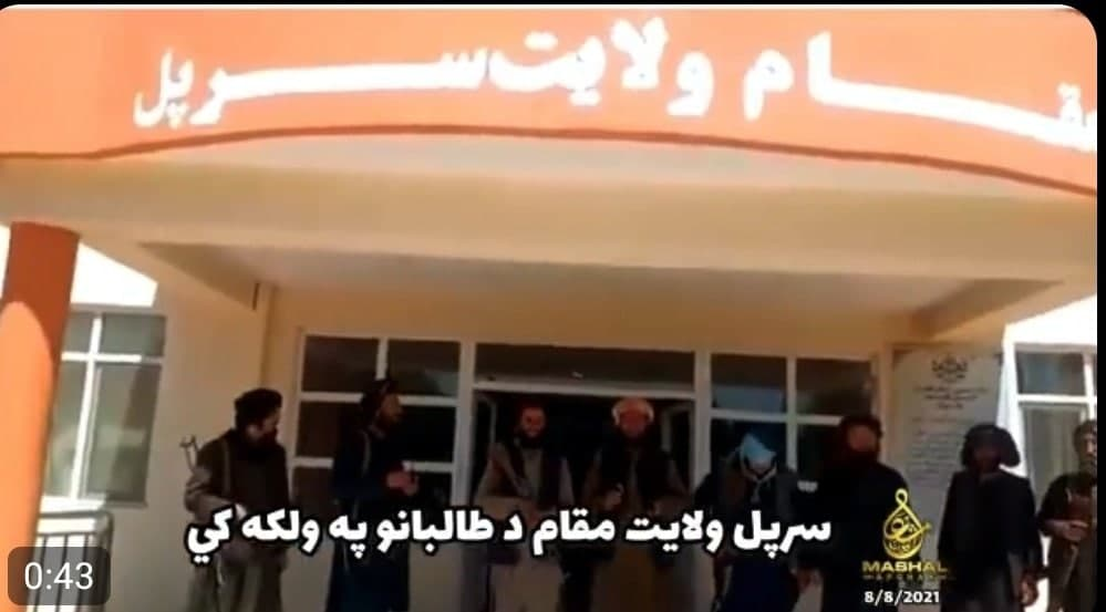 In Video: Kunduz, Sari-Pul Capitals Fell Under Taliban Control