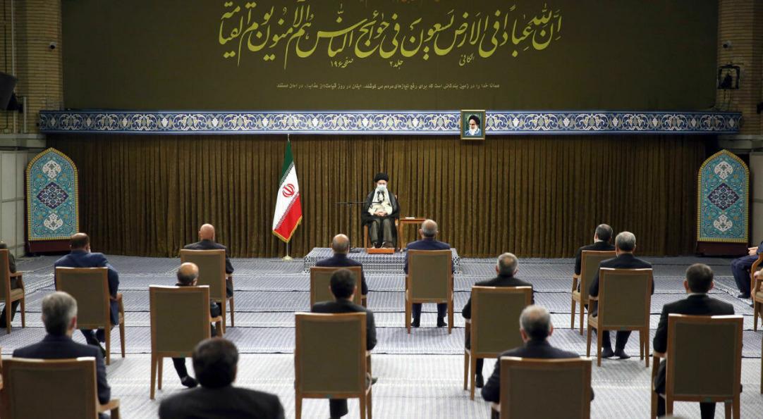 Nuclear Deal, Afghanistan & U.S. Wolves: Khamenei's First Speech To New Iranian Government