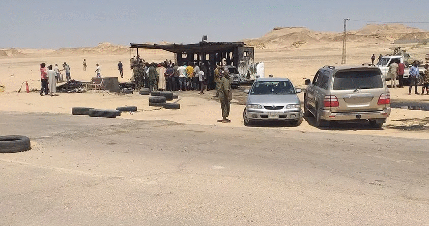 Suicide Bomber Attacks LNA Checkpoint In Libya, Only Kills Himself