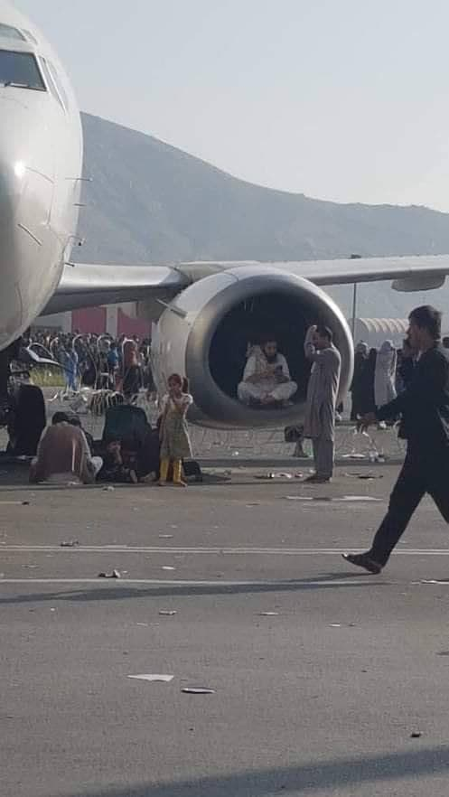 In Video: First Casualties At Kabul Airport (18+)